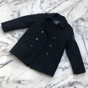 Boys Woolrich wool coat